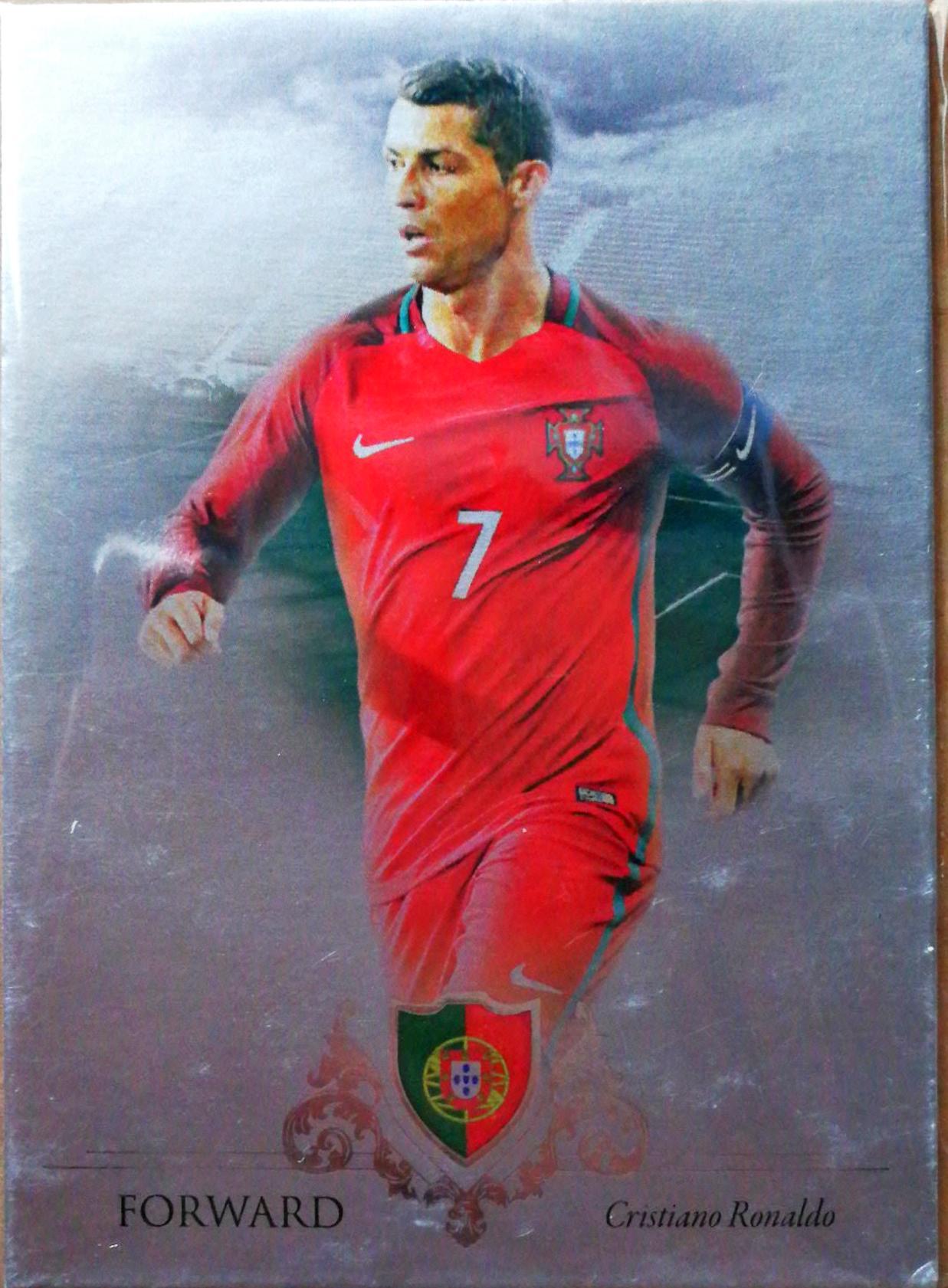 【自若清风】2016Futera世界足球Unique特制版球星卡Cristiano RonaldoC·罗纳尔多葡萄牙1/21NO.085基础卡特殊号