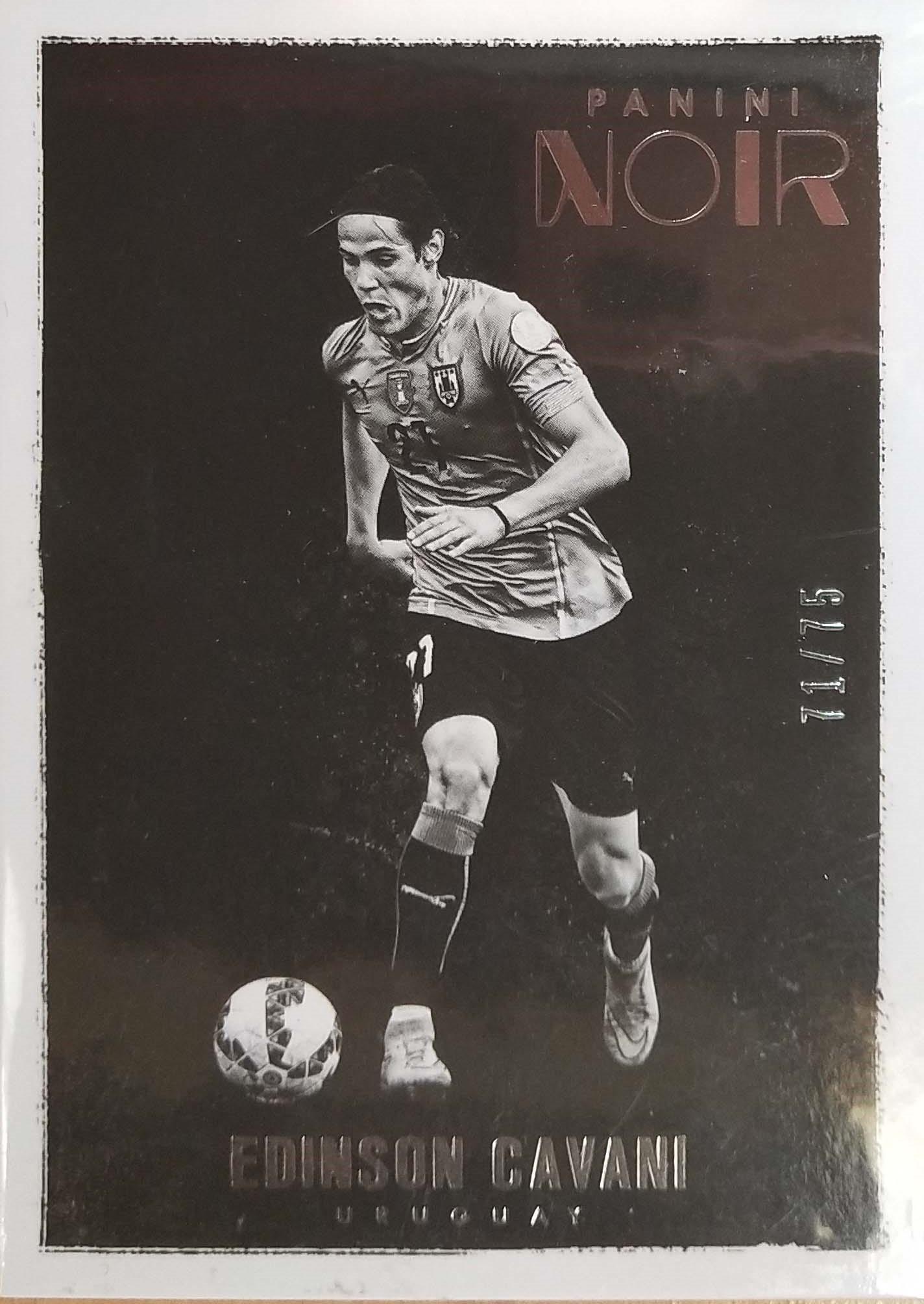 【普拉蒂尼】2016Panini帕尼尼诺尔球星卡Edinson Cavani卡瓦尼乌拉圭71/75NO.93基础卡