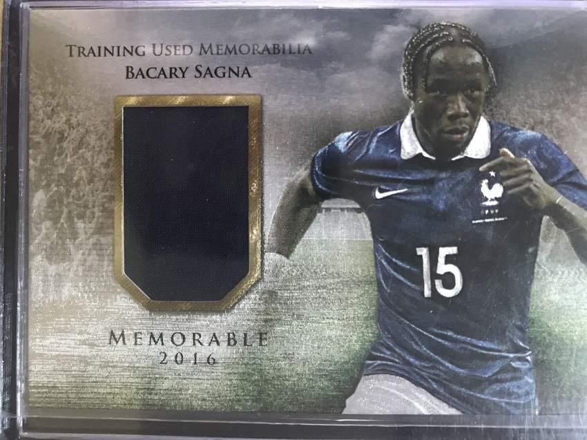 【风筝】2016Futera福特拉Unique球星卡Bacary Sagna萨尼亚法国28/99实物