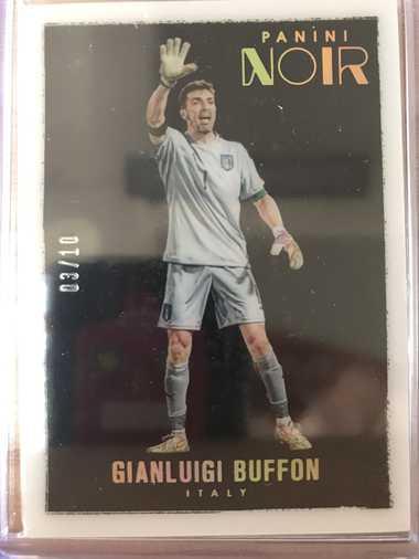 2016帕尼尼诺尔足球 球星卡 布冯 Gianluigi Buffon 意大利 Base彩色版 3/10 普卡