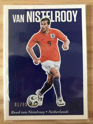 2017帕尼尼崇高足球 球星卡 范尼斯特鲁伊 Ruud Van Nistelrooy 荷兰 Base 1/99 NO.33