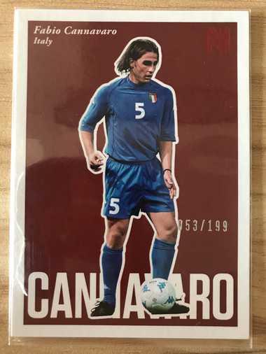 2017帕尼尼崇高足球 球星卡 卡纳瓦罗 Fabio Cannavaro 意大利 BaseSP 53/199 NO.84