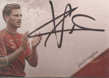 【开心就好】 2015福特拉 球星卡 精英签 费尔通亨 比利时 26/35 NO.EL31