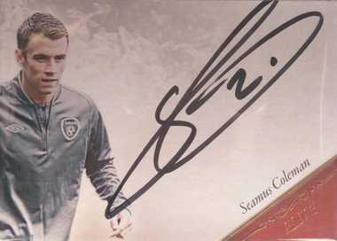 【开心就好】 2015福特拉 球星卡 精英签 谢默斯·科尔曼 爱尔兰 6/35 NO.EL32