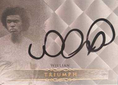 【开心就好】 2015福特拉 球星卡 胜利签 威廉 巴西 23/40 NO.TR17