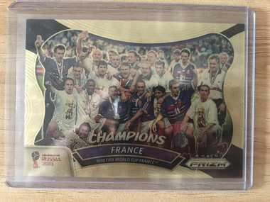 [Ed] 2018 Panini 俄罗斯世界杯 法国 France 法国 夺冠特卡 1/5 NO.5