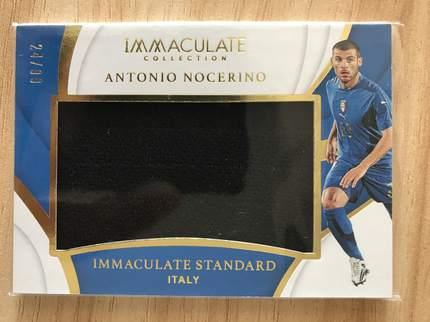 [开心就好] 2019 Panini Immaculate足球 球星卡 安东尼奥·诺切里诺 意大利 完美标准实物卡 24/99 NO.4