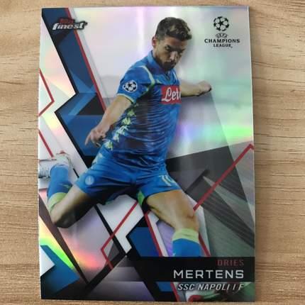 【Ed】2019 Topps 欧冠Finest 球星卡 梅尔滕斯 Dries Mertens 那不勒斯 基础卡 NO.93