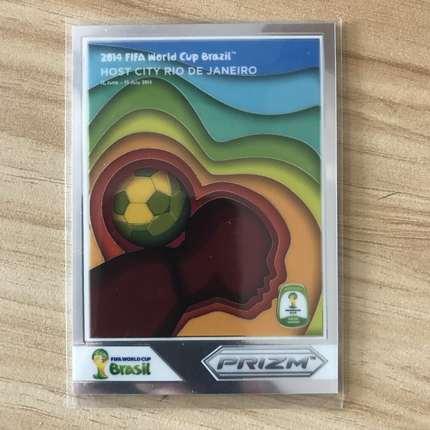 【开心就好】2014 panini 世界杯 球星卡 里约热内卢  海报特卡  NO.10 特卡