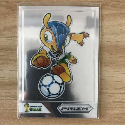【开心就好】2014 panini 世界杯 球星卡 吉祥物  吉祥物特卡  NO.Fuleco-1 特卡