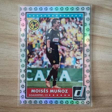 [Ed] 2015 Panini 杜蕾斯 球星卡 穆尼奥斯 Moises Munoz 墨西哥美洲 基础卡 11/25 绿 NO.64