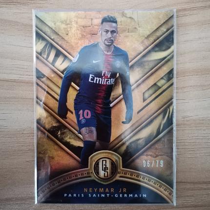 [Ed] 2019 Panini 金砖系列 球星卡 内马尔 Neymar Jr 巴黎圣日耳曼 Base 6/79 金 NO.86