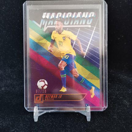 [Ed] 2019 Panini 杜蕾斯 球星卡 内马尔 Neymar Jr 巴西 魔术师特卡 7/10 蓝 NO.13