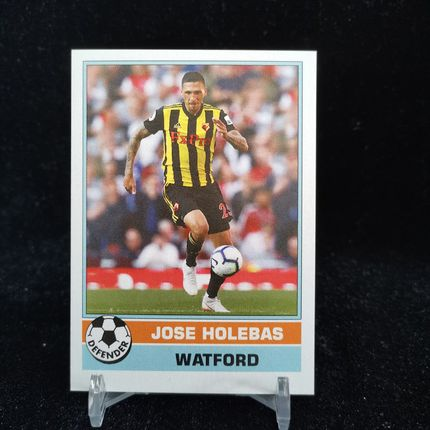 [Ed] 2019 Topps 1977年英超复古 球星卡 霍莱巴斯 Jose Holebas 沃特福德 Base NO.8