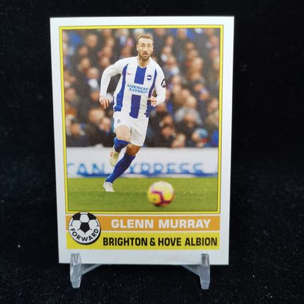 [Ed] 2019 Topps 1977年英超复古 球星卡 格伦·穆雷 Glenn Murray 布莱顿 Base NO.14