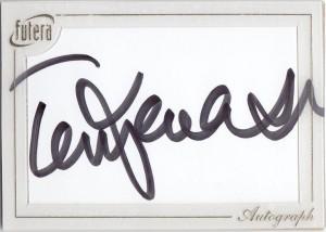 福特拉1of1签字卡背面