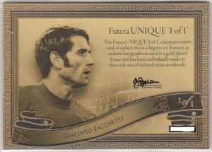 福特拉1of1存档切割签字卡正面