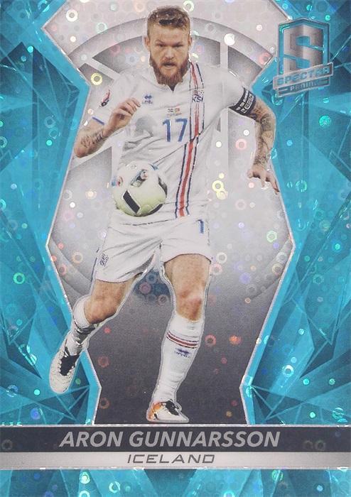 【自若清风】2016Panini帕尼尼光谱足球球星卡Aron Gunnarsson贡纳尔松冰岛16/75NO.31基础卡