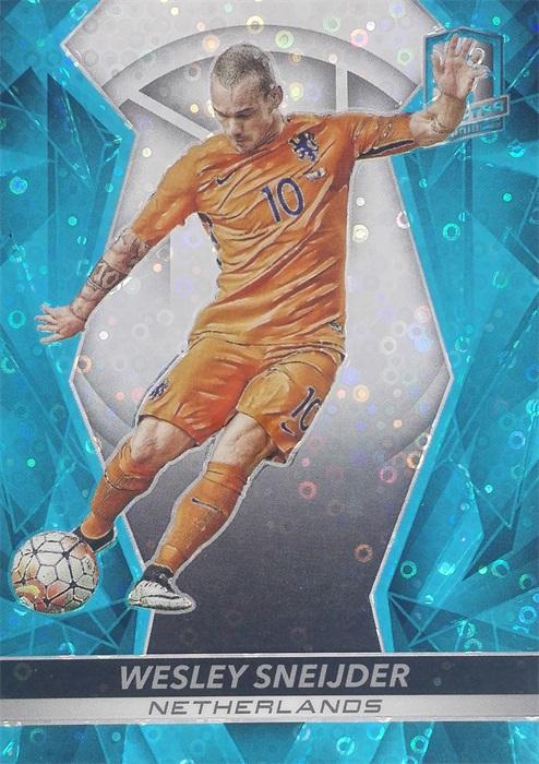 【自若清风】2016Panini帕尼尼光谱足球球星卡Wesley Sneijder斯内德荷兰71/75NO.52基础卡