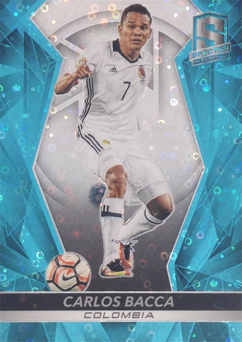 【自若清风】2016Panini帕尼尼光谱足球球星卡Carlos Bacca巴卡哥伦比亚18/75NO.78基础卡