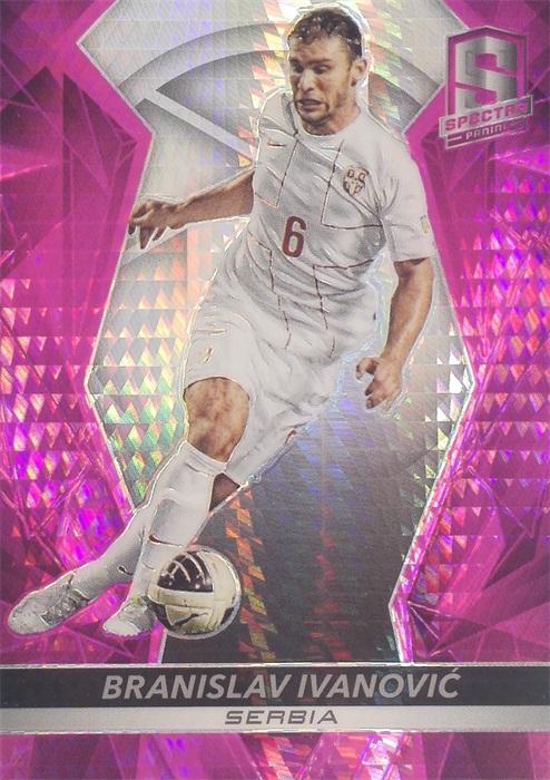 【自若清风】2016Panini帕尼尼光谱足球球星卡Branislav Ivanovic伊万诺维奇塞尔维亚1/25NO.88基础卡