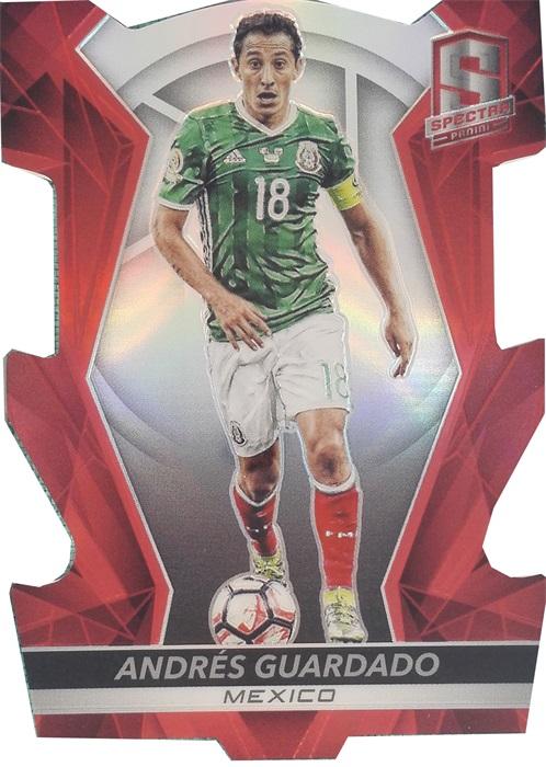 【自若清风】2016Panini帕尼尼光谱足球球星卡Andres Guardado瓜尔达多墨西哥20/65NO.84基础卡